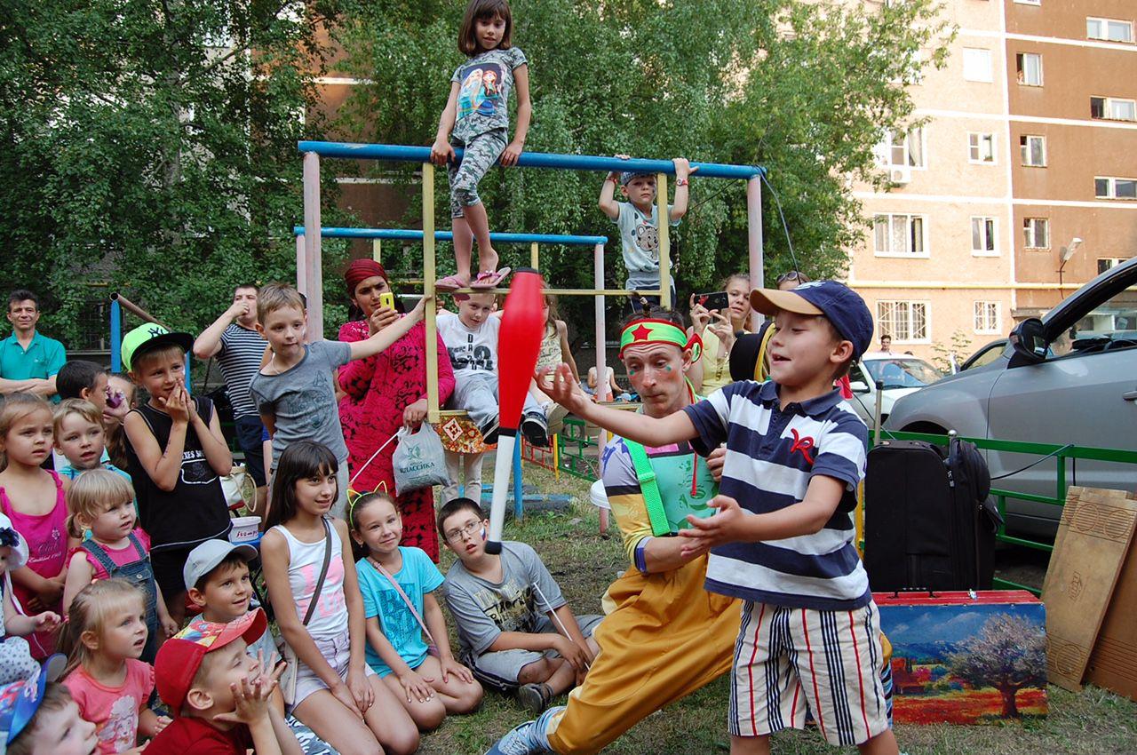 Видео праздники двора